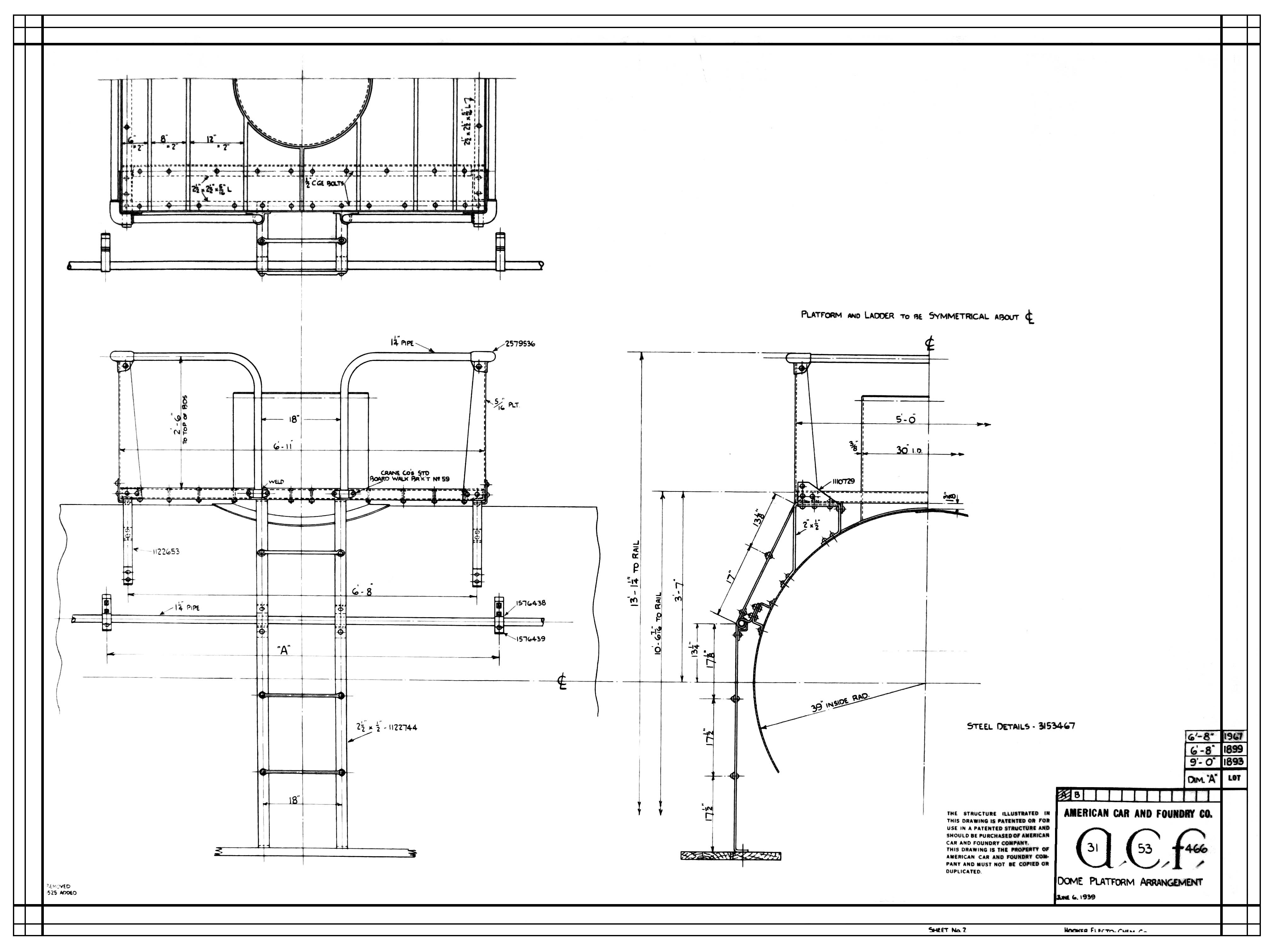 Design of a car pdf - Special Detail On Hokx 215 Pdf File Merrimac 7000k Tank Car Drawing Ab Brake System Drawing